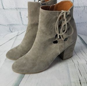Steve Madden | Savor Ankle Boots Suede Covere